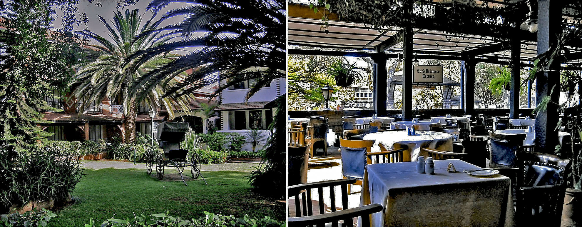 Africa Kenya Nairobi Norfolk Hotel