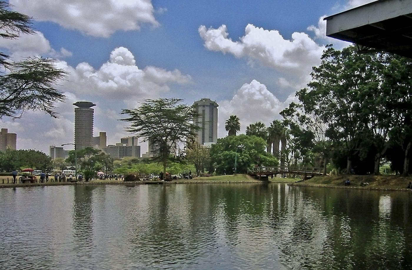 Africa Kenya Nairobi Uhuru Park