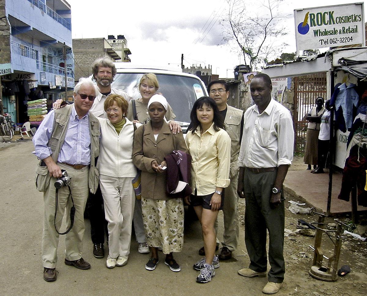 Africa Kenya Nanyuki Tour Group