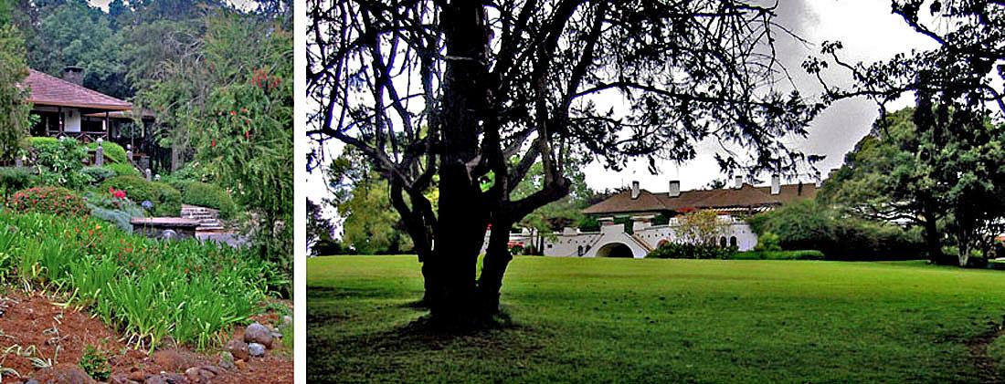 Africa Kenya Nanyuki Mount Kenya Safari Club & Cottage