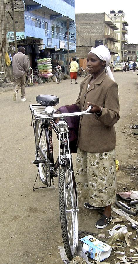 Africa Kenya Nanyuki New Bicycle